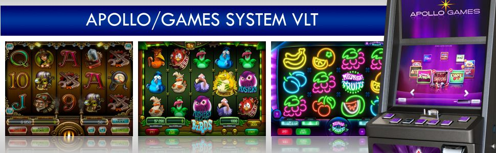 Apollo Games - GAMES SYSTEM VLT